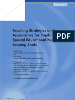 Teaching Strategies for SEN