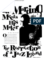 Pat Martino Meets His Maker the Resurrection of a Jazz Legend