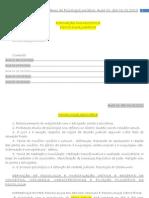 Caderno de Psicologia Jurídica
