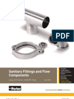 Sanitary Fittings and Flow Components