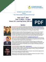 """FACES,XLRI & Sankalp Forum present - """"Guru Mantra"""