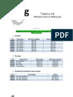 JGG - Tabela Junho 2013