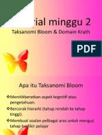 Taksanomi Bloom & Wrath