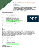 TEORIA DE LAS DECISIONES ACT---CORREGIDAS  COMPLETAS CON EVALUACIÓN NACIONAL