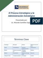 El Proceso Estratégico y la Administración Estratégica