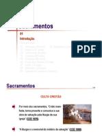 SACRAMENTOS01 - Introducao Aos Sacramentos