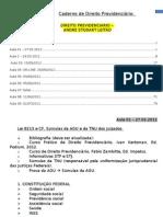 Caderno de Previdenciario