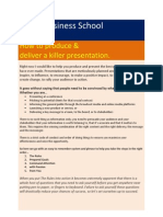 Killer Presentation Taxila