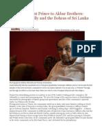 From Merchant Prince to Akbar Brothers Inayat Akbarally and the Bohras of Sri Lanka