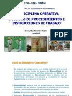 Disciplina Operativa