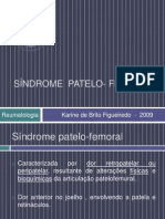 Síndrome patelo- femoral