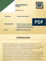 Facultad de Ciencias Contables y Finanzas Corporativas Diapositiva