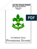 Mi Adelanto Scout - Progresión Promesa Scout
