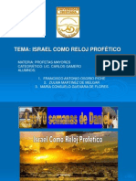 Israel Como Reloj Profetico