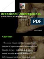 via difusion infeccion maxilofacial maxillofacial surgery infection