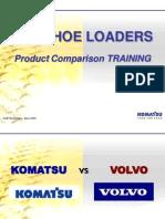 Bhl Komatsu vs Volvo