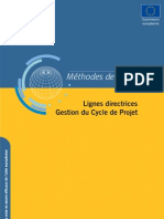 Europeaid Adm Pcm Guidelines 2004 Fr