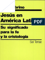 Jon Sobrino Jesús en América Latina