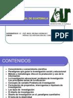 MODULO DE INTEGRACIÓN DEL CONOCIMIENTO II - ESTRUCTURA DE LA INVESTIGACIÓN
