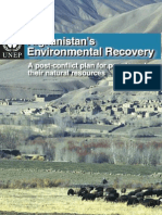 UNEP - Afghan Env Recovery