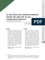 La Estructura Del Constitucionalismo Aleman Del S. XIX - Werner Heun