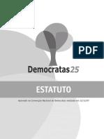 Estatuto Do Partido Democratas