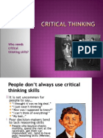 Need for Critical Thinking C.ppt