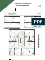 Costos de construcción por m2