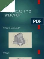 Practicas 1 y 2 Sketchup
