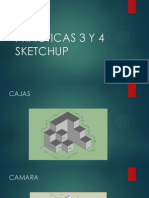 Practicas 3 y 4 Sketchup