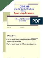 Lec.5 OpenLoopSys