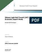 OLRT Economic Impact Study (Revised Final) 20110913