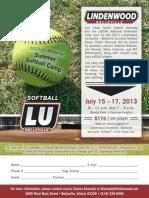 Lady Lynx Softball SummerCamp2013