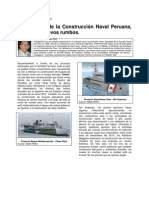 La Industria de La Construccion Naval Peruana, Buscando Nuevos Rumbos (2013)