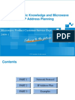 02 Network Basic Knowledge and Microwave Equipment IP Address Planning