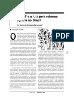 O MST e a luta pela reforma agrária no Brasil