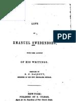 Benjamin F Barrett LIFE OF EMANUEL SWEDENBORG New York 1841
