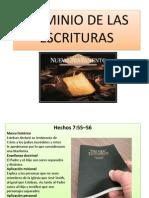 Dominio de Las Escrituras Nuevo Testamento
