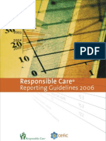 Responsible Care Reporting Guidelines 2006