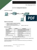 Configuracion Basica de Cisco Carlos Solucionando