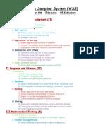 work sampling system for webpage 4 year old website