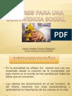 importanciadelosvaloresparaunaconvivenciasocial-110410193103-phpapp02
