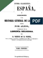 Historia eclesiastica de España-Tomo I