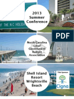 NCLGBA Summer 2013 Conference Agenda (DRAFT)