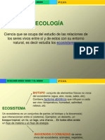 ECOLOGIA BASICO