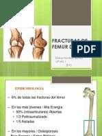 Fracturas de Femur Distal