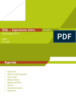 SQL Inections Issa