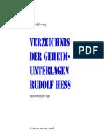 Hess Verzeichnis