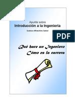 Apunte sobre Introducción a la Ingeniería