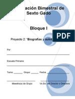 6to Grado - Bloque 1 - Proyecto 2